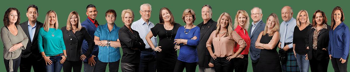 Catherine Hanson Realty Team group photo